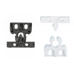 Trinco de puertas en PVC blanco